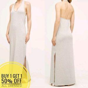Anthropologie | Saturday Sunday Gray Maxi Dress